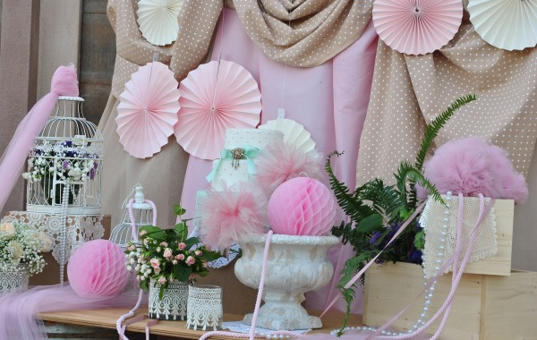 ~Pink Baptism Reception~